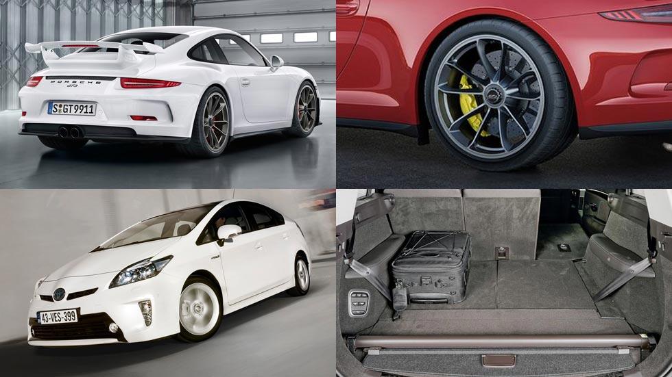 Los mejores coches en nuestras pruebas 2015 por categorías