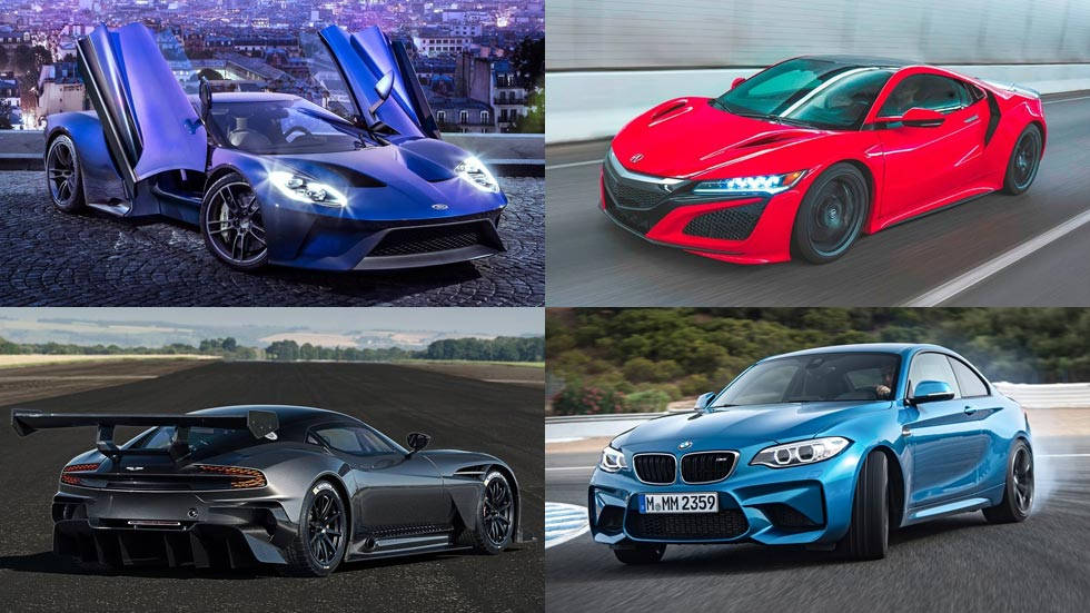 Los coches deportivos más deseados de 2016