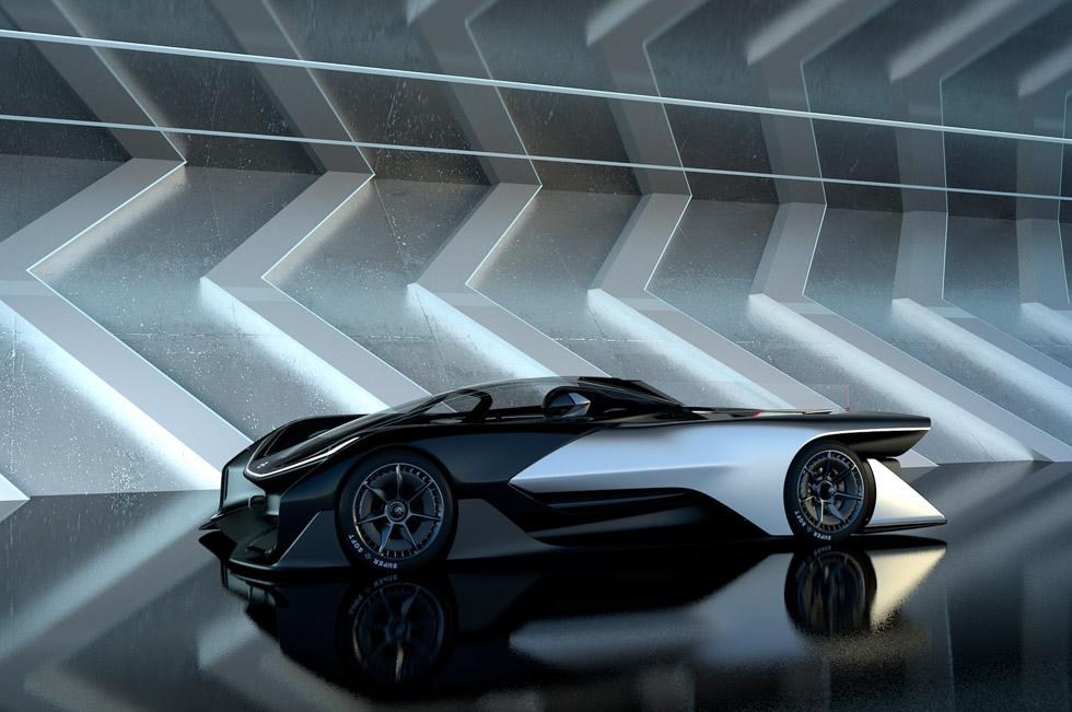 Faraday Future FFZERO1: el prototipo eléctrico revolucionario