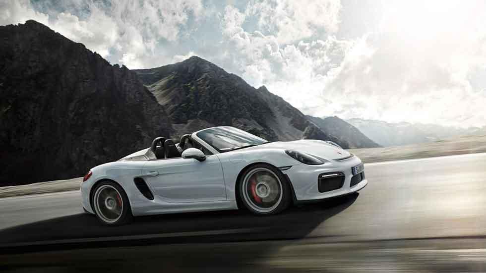 Así funciona la capota del nuevo Porsche Boxster Spyder (vídeo)