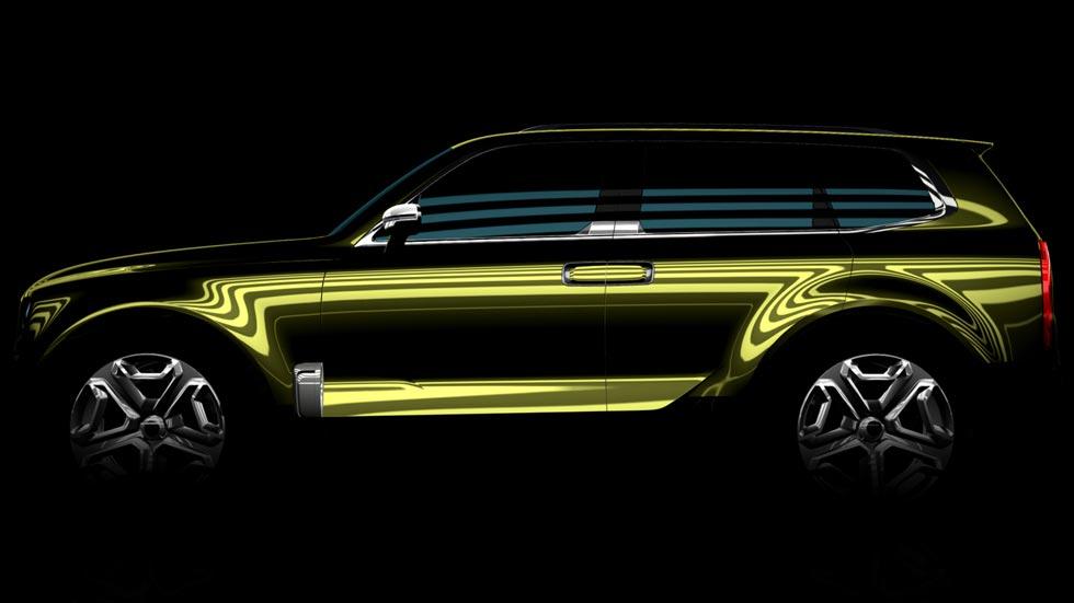Kia estrenará un SUV grande en el Salón de Detroit 2016