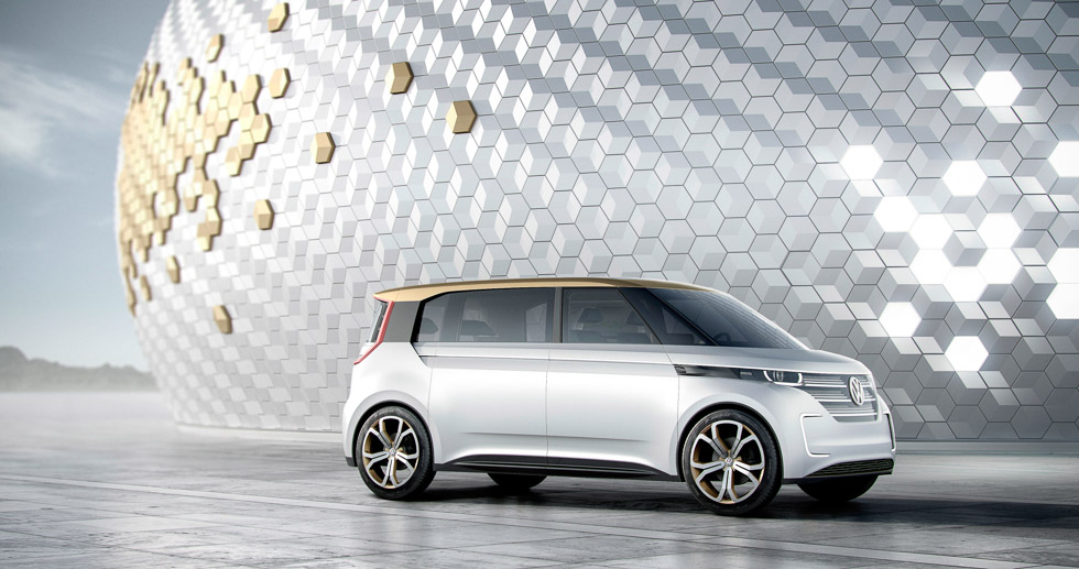 Volkswagen Budd-e, la furgoneta familiar eléctrica del futuro