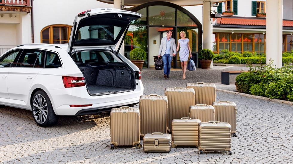 Las berlinas con carrocería familiar con maletero más grande