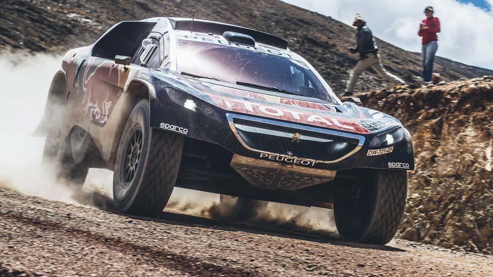 Dakar 2016 quinta etapa: Sainz ya es tercero tras Loeb y Peterhansel