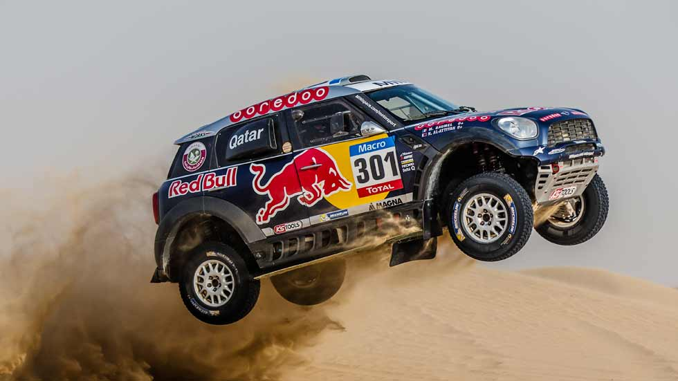 Mini All 4 Racing del Dakar: el rey del desierto, a prueba