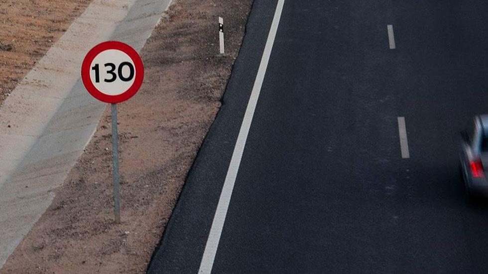 ¿Cuándo podremos circular a 130 km/h en autopista?