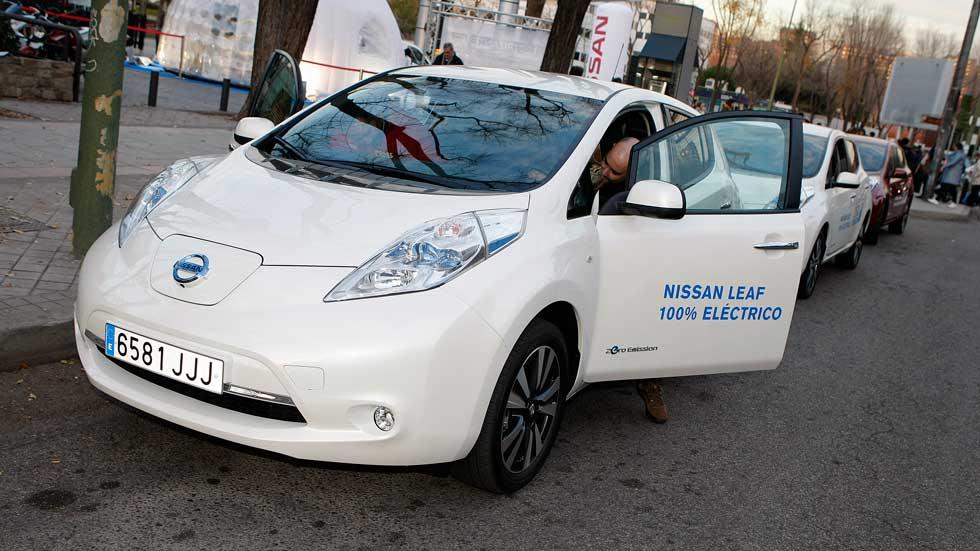 Nissan LEAF: conduce gratis un coche eléctrico por Barcelona