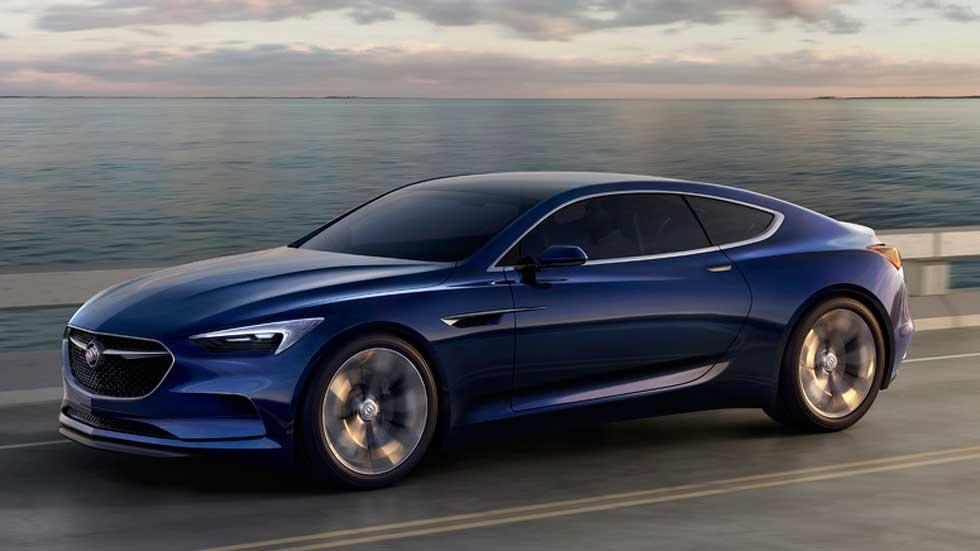 Buick Avista Concept 2016, apuesta deportiva para Detroit