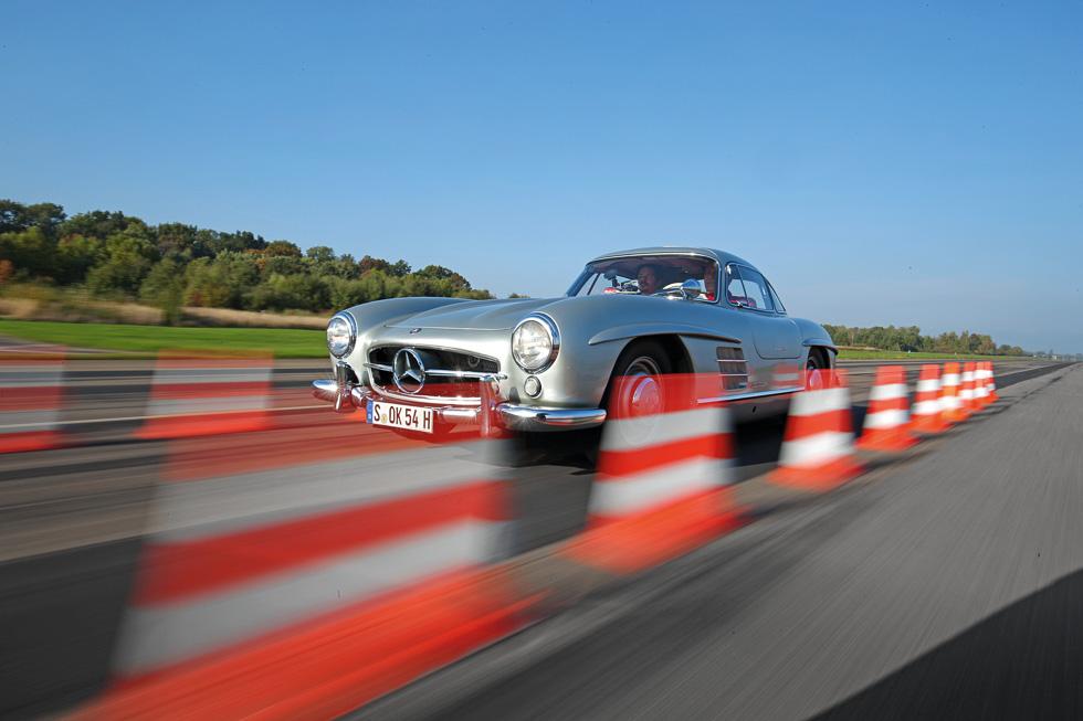 Mercedes 300 SL, todo un clásico a prueba