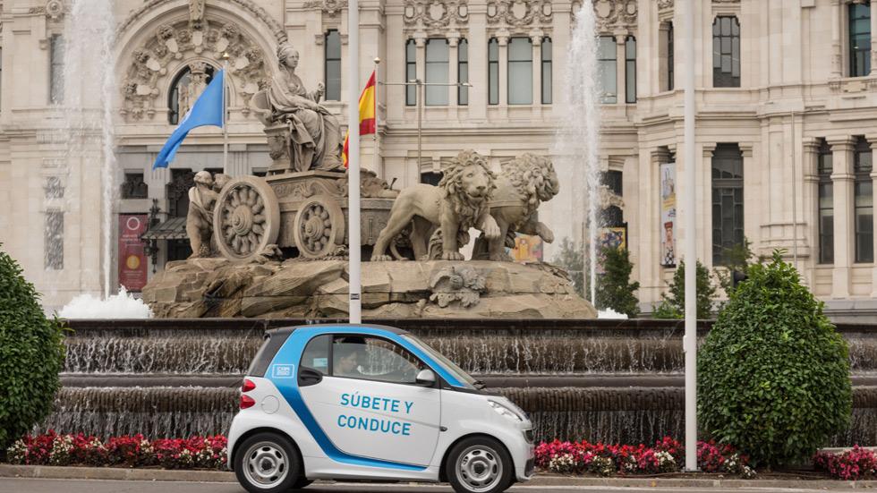 ¿Qué está pasando con los coches de Car2go de Madrid?