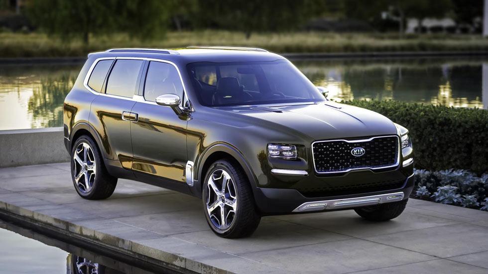 Kia Telluride Concept, el nuevo SUV grande de Kia