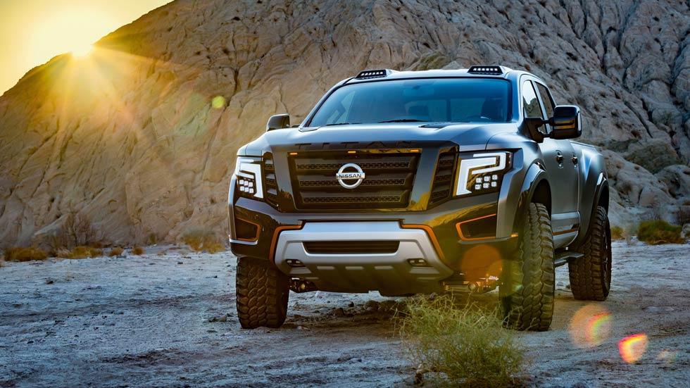 Nissan Titan Warrior Concept, la pick-up más bruta de Nissan