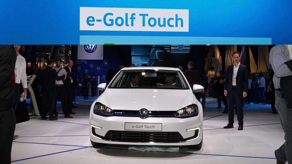 Volkswagen e-Golf Touch: el futuro de la conectividad