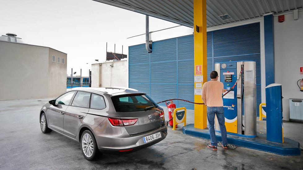Seat  León ST TGI, ahorra con el gas natural comprimido