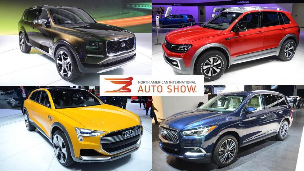 Salón del Automóvil de Detroit 2016: los mejores SUV y 4x4