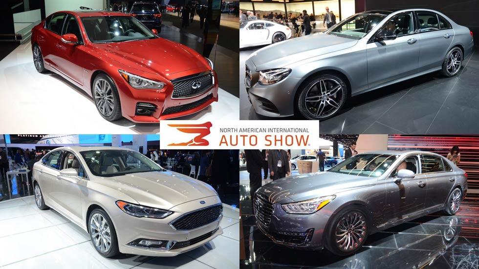 Salón del Automóvil de Detroit 2016: las mejores berlinas