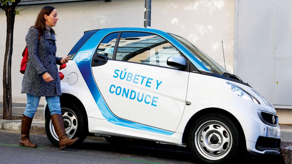 Cómo funciona el servicio Car2go de Madrid