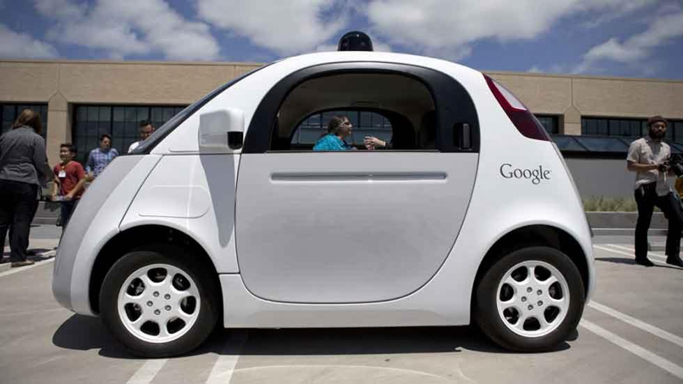 El coche sin conductor de Google sí necesita conductor