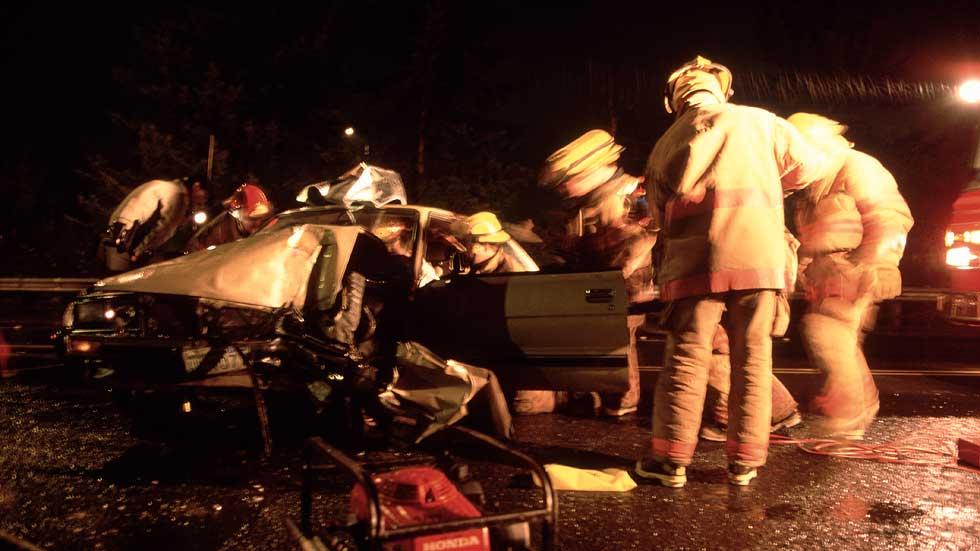 Tuve que ayudar a una persona en un accidente de tráfico y vi fallos