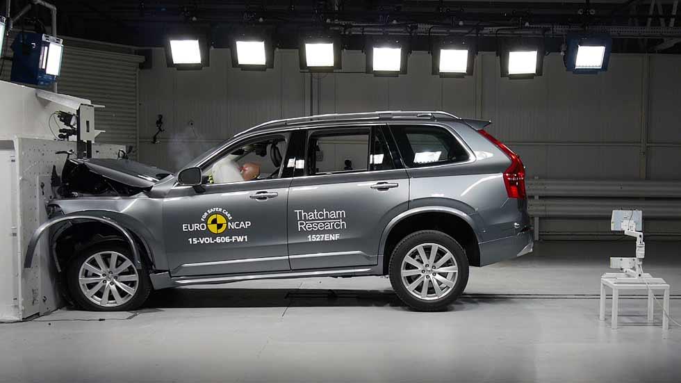 Los coches más seguros en su segmento según EuroNCAP