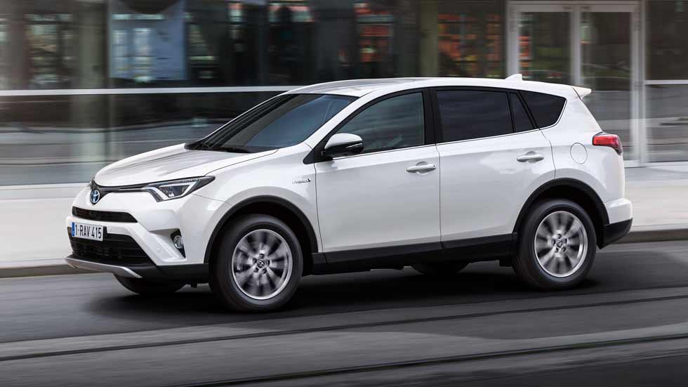 Toyota RAV4 Hybrid: el SUV de Toyota, ahora híbrido