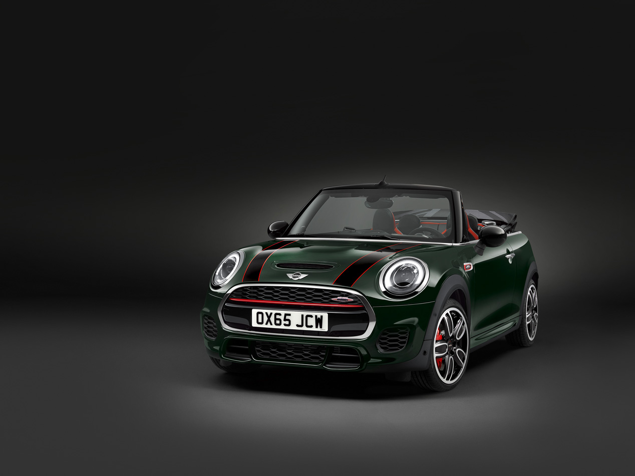 Mini JCW Cabrio, el John Cooper Works de Mini se destapa