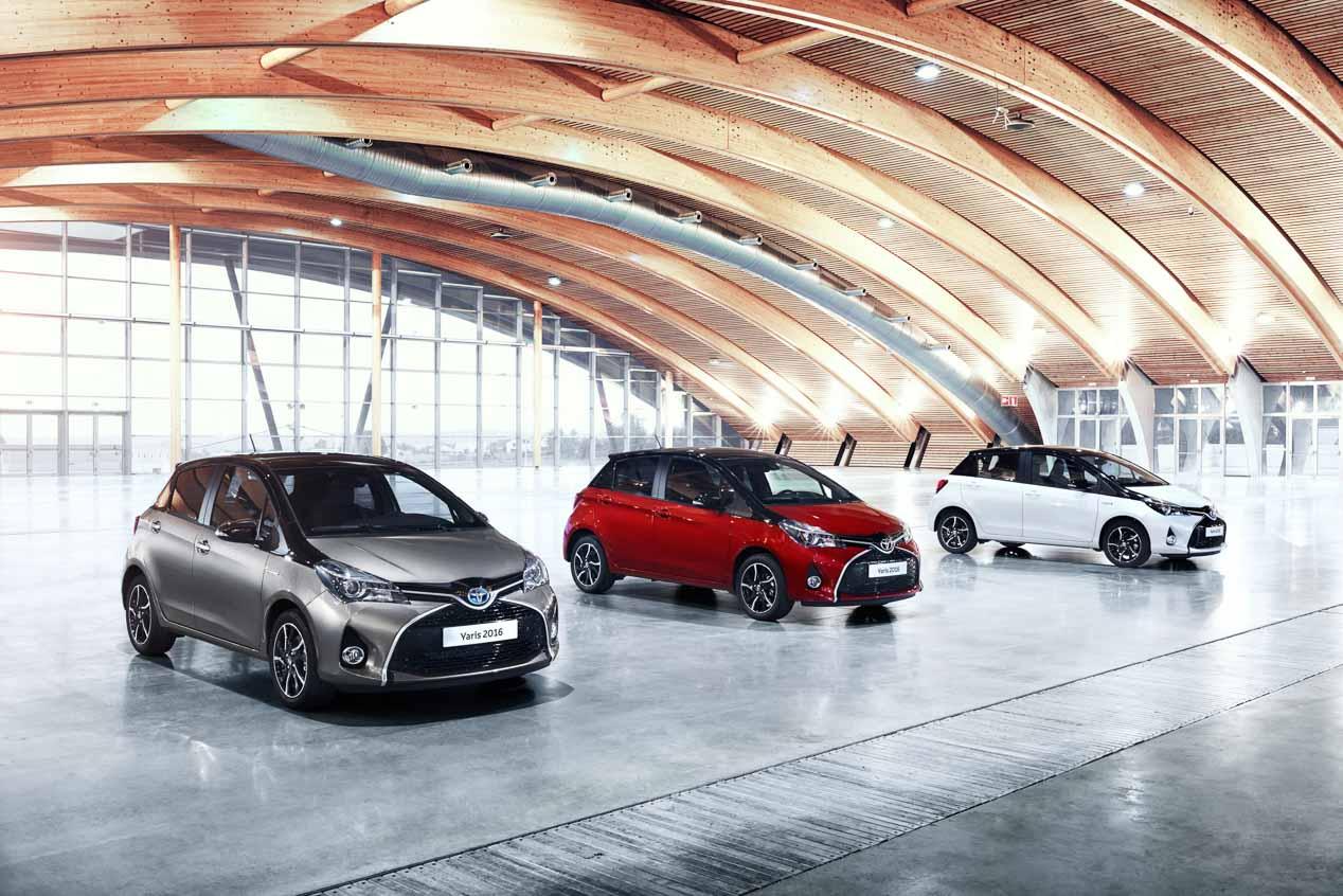 Toyota Yaris 2016, a la venta por 11.000 euros sin motores Diesel