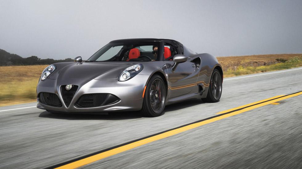 Alfa Romeo 4C y 4C Spider 2016, el deportivo se renueva