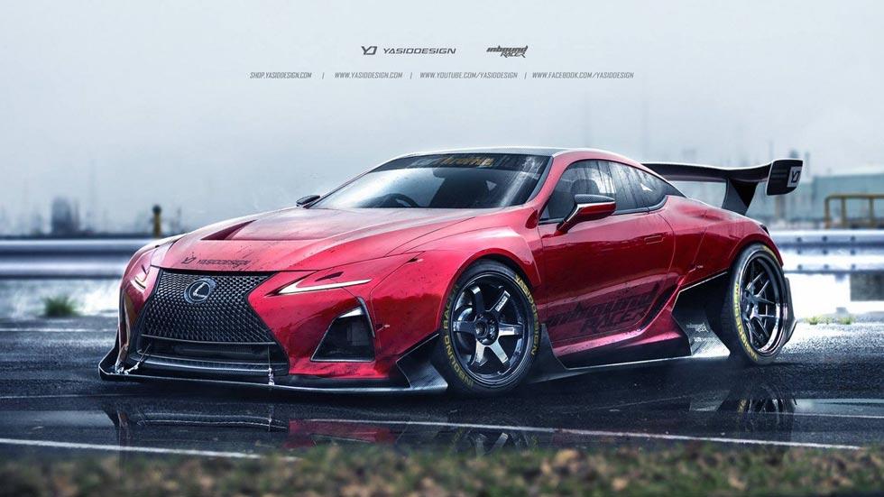 Lexus LC 500 GT3 y Drift, rienda suelta a la imaginación con el coupé japonés