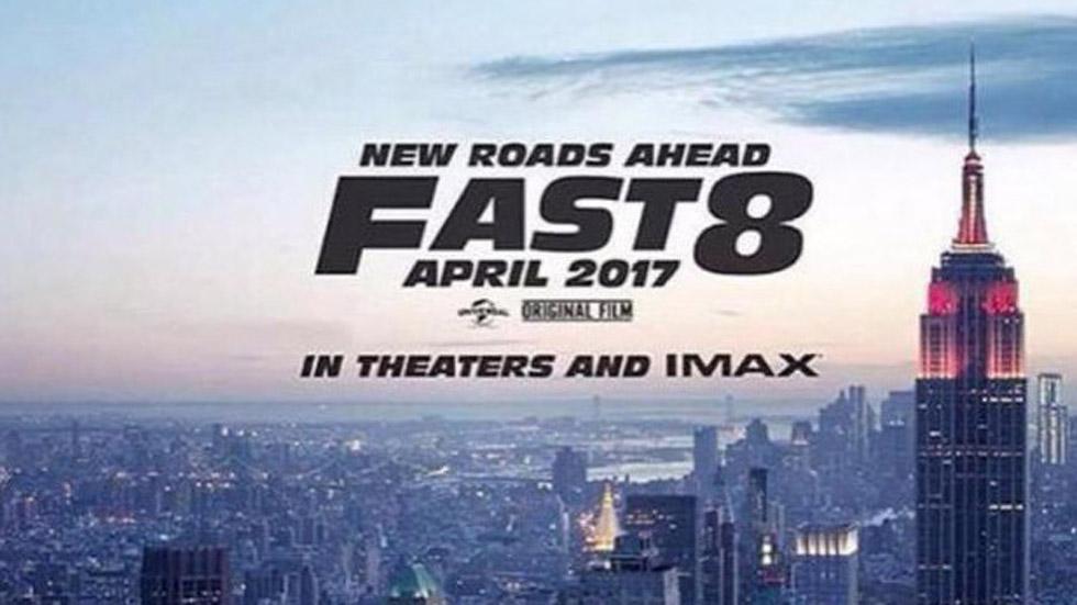 Vin Diesel revela en su Instagram el primer cartel de Fast&Furious 8