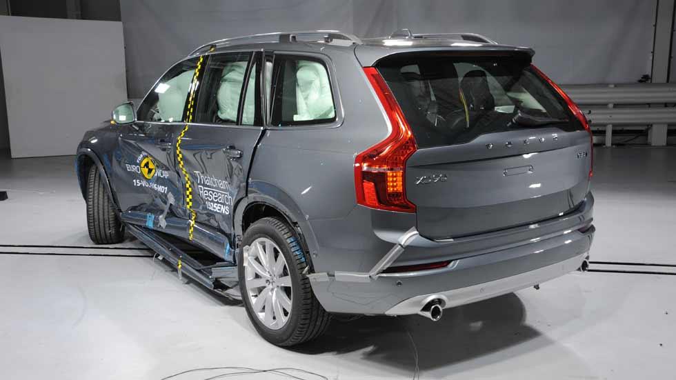 Volvo XC90, ¿por qué es el coche más seguro de EuroNCAP?