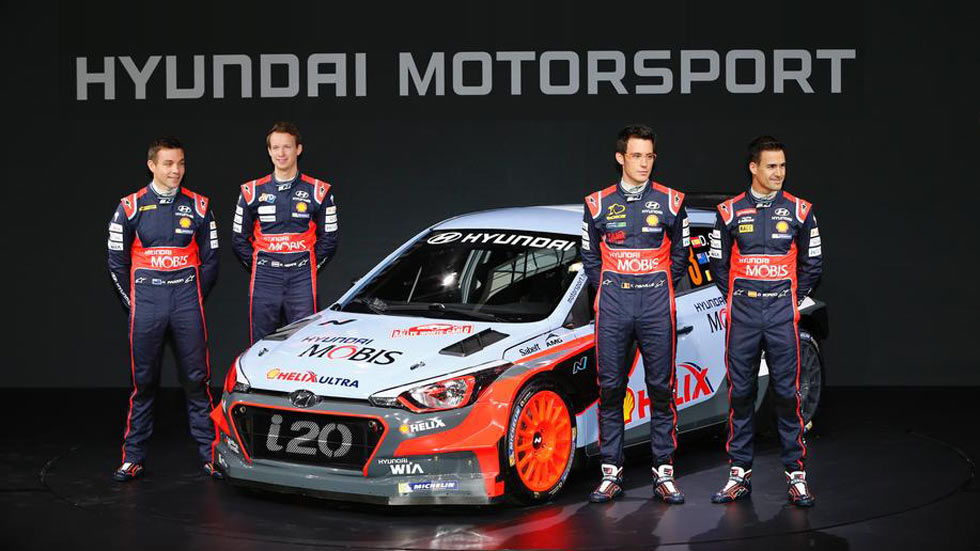 Mundial de Rallyes 2016, previo: equipos y pilotos