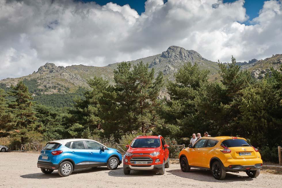 Ford EcoSport, Nissan Juke y Renault Captur: mini SUV al poder