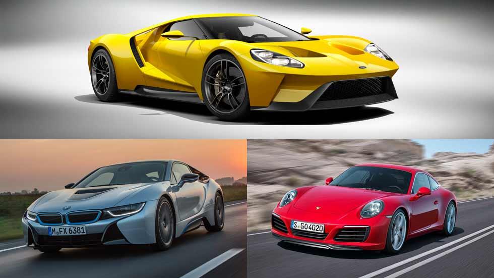 Ford, BMW y Porsche, las tres mejores marcas de coches en Internet