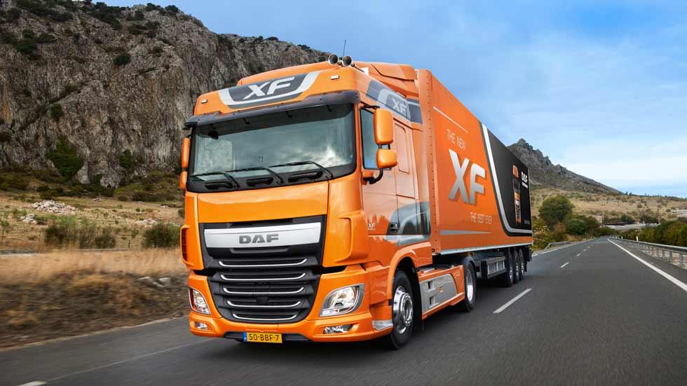 Los camiones más vendidos de 2015 en España