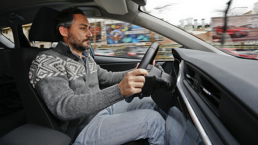 Toyota Auris Hybrid: lo peor... mi sillita infantil