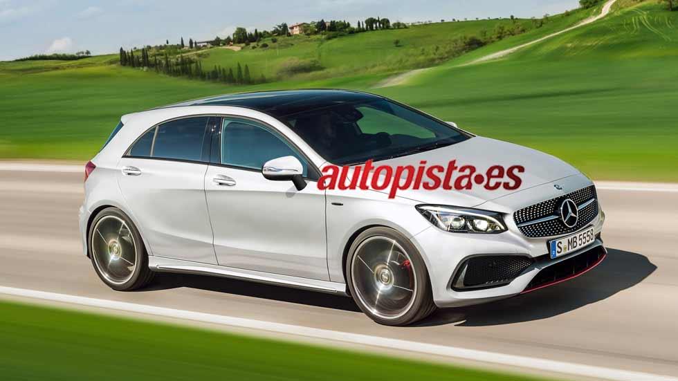 Nuevos Mercedes, en 2018 el Mercedes Clase A tendrá siete variantes