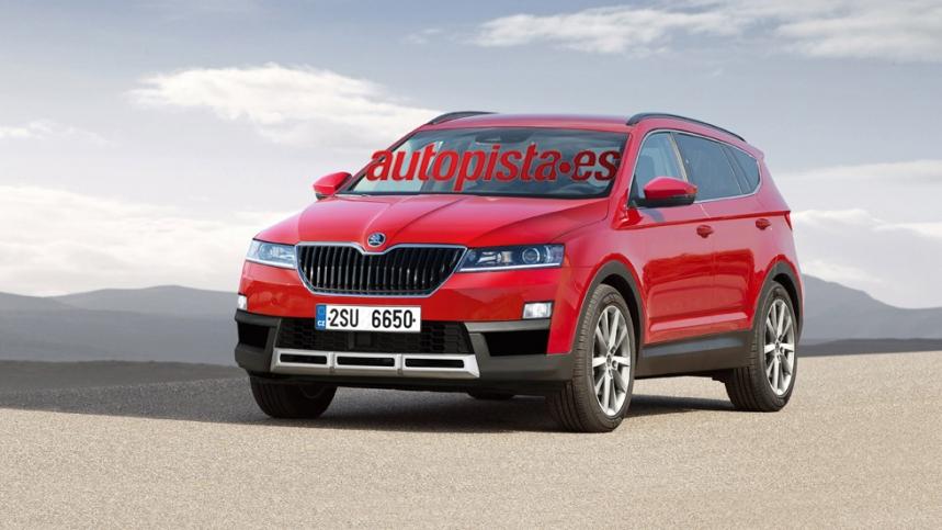 El nuevo SUV de Skoda podría debutar en el Salón de Ginebra