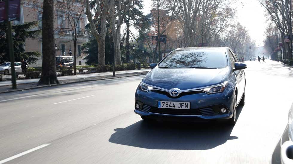 Toyota Auris Hybrid, para circular por la M-30 y zonas de restricciones de Madrid