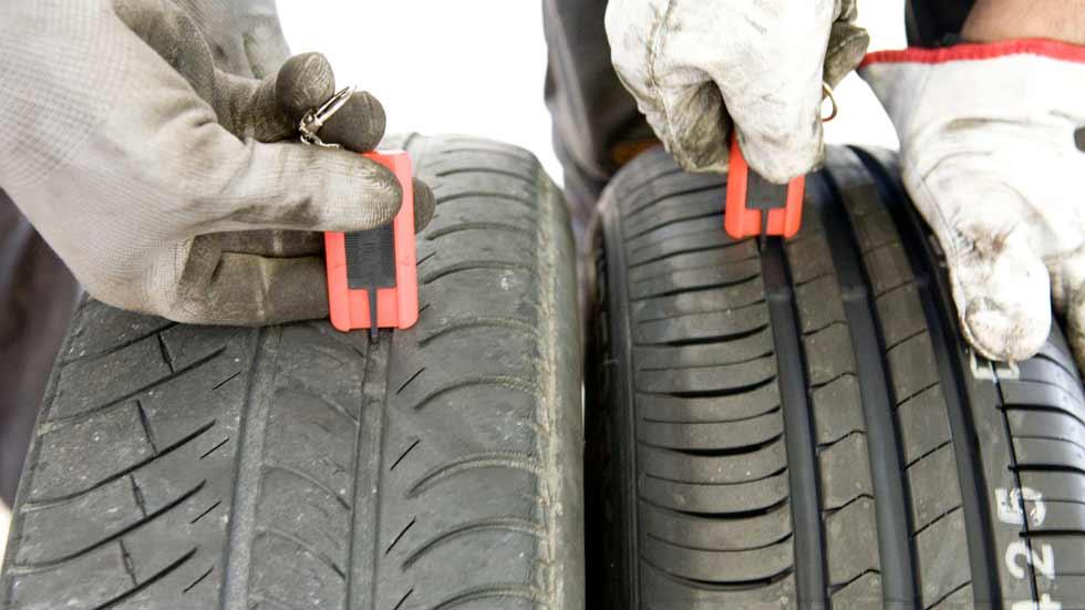 El 37 por ciento de los conductores circula con neumáticos con poca profundidad
