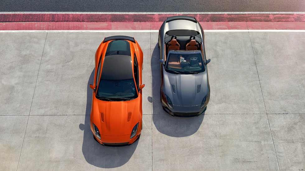 Jaguar F-Type SVR, el Jaguar más rápido y radical