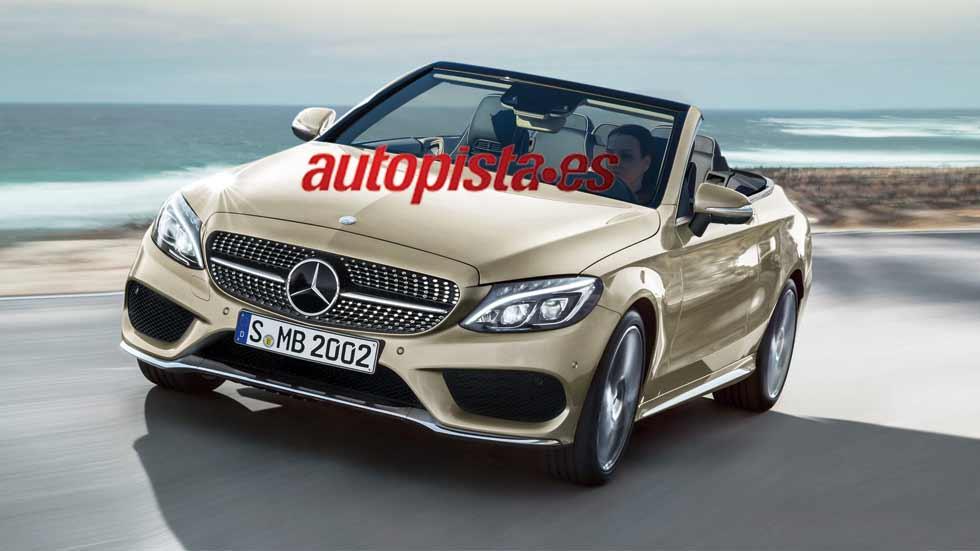 El Mercedes Clase C Cabrio estará en el Salón de Ginebra