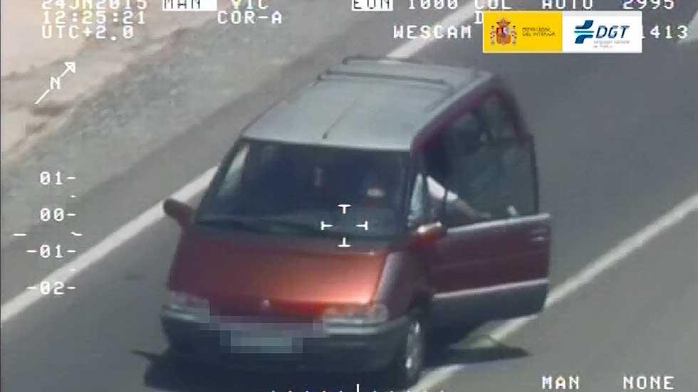 El Pegasus de la DGT: las infracciones más impactantes de los conductores (vídeo)