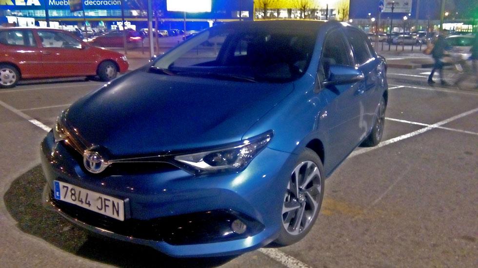 Una tarde cualquiera con el Toyota Auris Hybrid