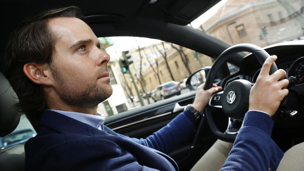 """Andy Soucek:  """"A 120 km/h me duermo, necesito un buen copiloto"""""""