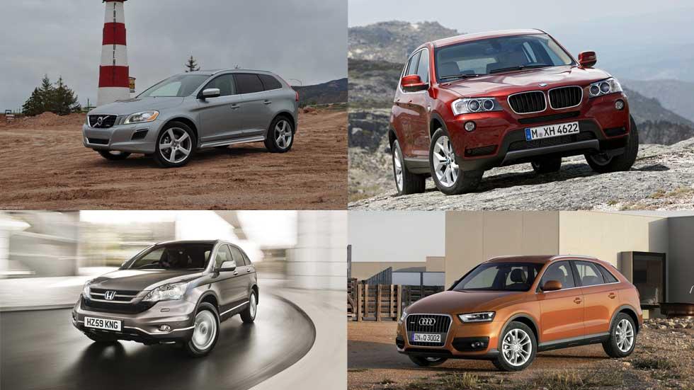 Los SUV y 4x4 más y menos fiables de Europa, según la OCU