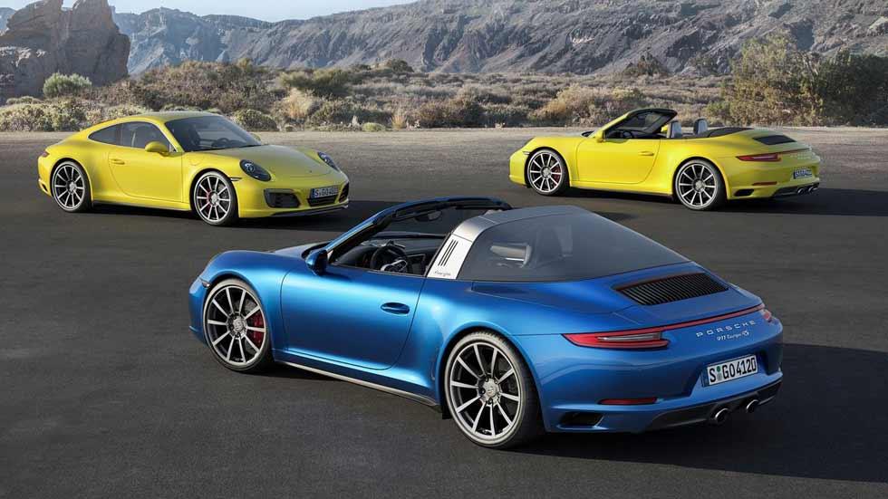 Porsche 911 Carrera 4 y Carrera 4S, cuatro mejor que dos