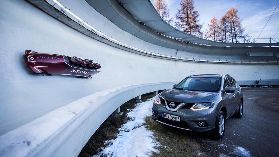 Nissan X-Trail Bobsleigh, el primero de siete plazas del mundo (vídeo)