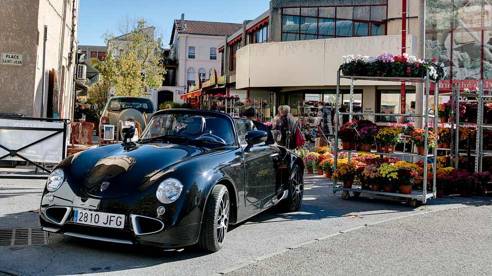 PGO Cevennes, un coche moderno con aspecto vintage