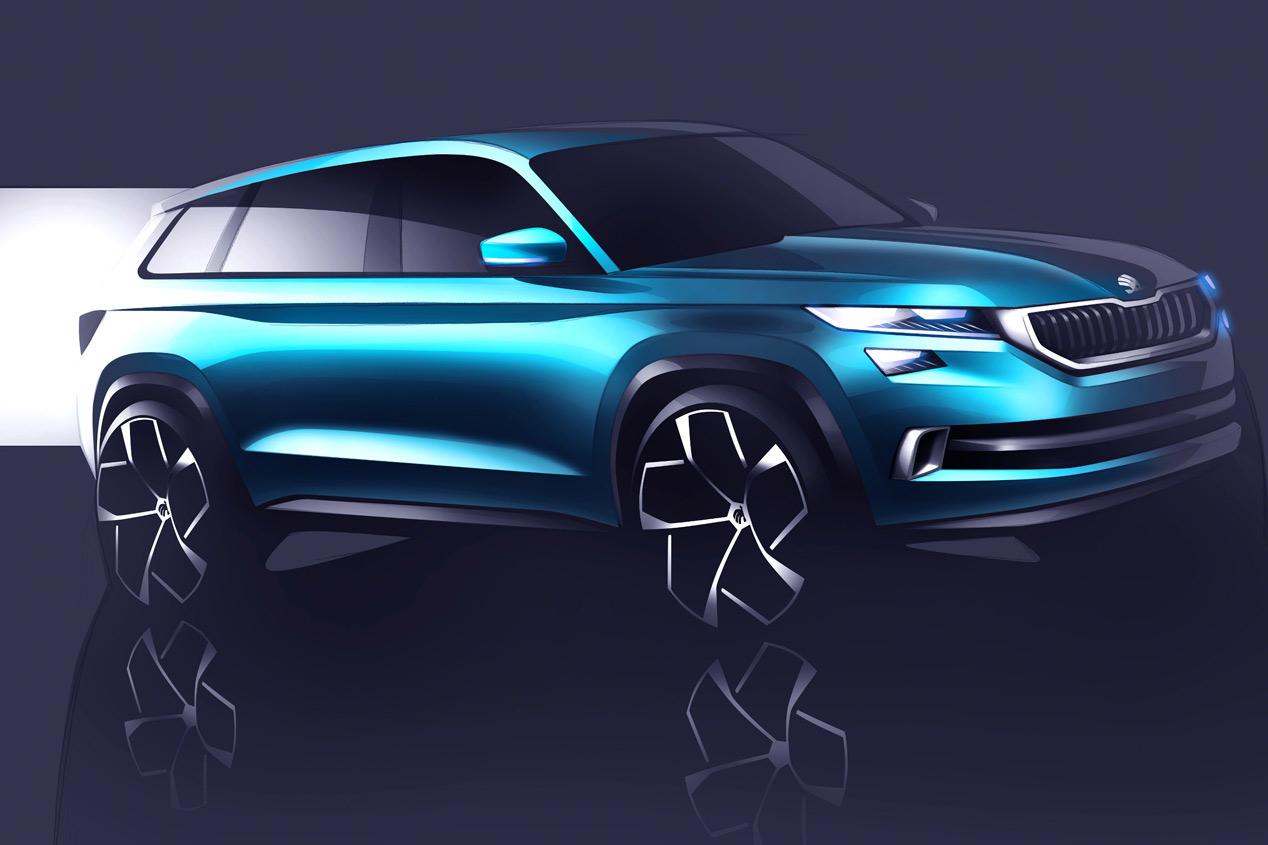 Skoda VisionS: la versión checa del Seat SUV
